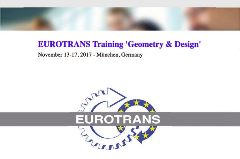 EUROTRANS Training 'Geometry & Design'